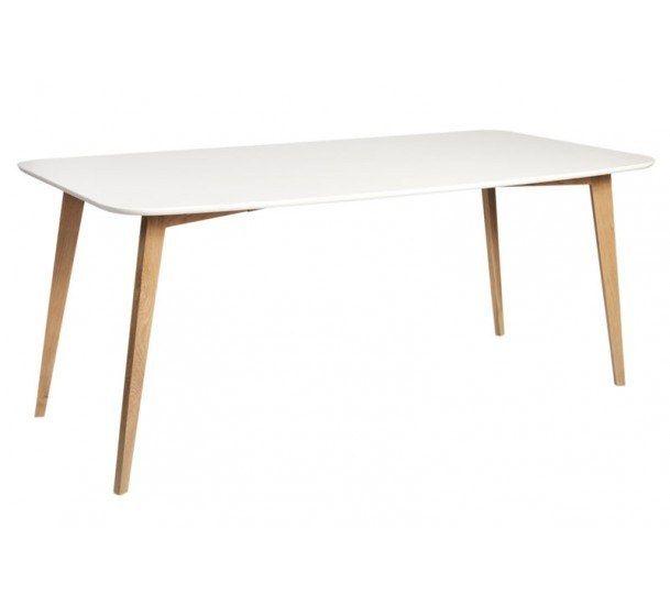 Link Spisebord - Langt spisebord i mattlakkert eik