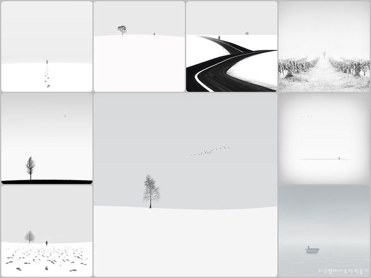 지구별에서 추억 만들기 :: 호세인 자레(Hossein Zare)의 미니멀리즘 흑백 사진