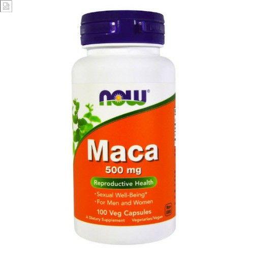 فوائد عشبة الماكا Now Foods Maca Veggie Caps