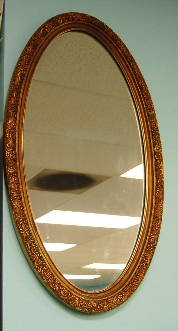 684 best vintage mirrors images on pinterest vintage for Long antique mirror