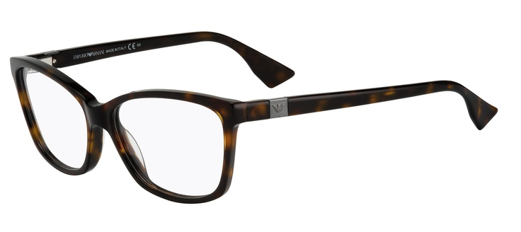 Highly feminine with its distinctive but elegant vintage inspired front shape, this frame is available in deep tortoiseshell.   2 pairs complete $439  ref: 25635218