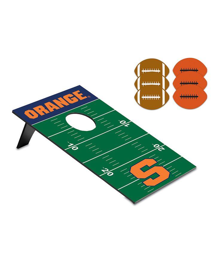 Syracuse Orange Football Bean Bag Throw Game