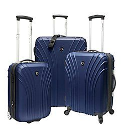 Traveler's Choice®  3-pc. Ultra Lightweight Luggage Set