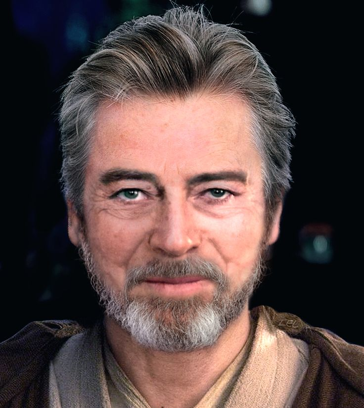 facemorph of Hayden Christensen and Sebastian Shaw to see what what a middle-aged, Jedi Knight Anakin Skywalker would've looked like