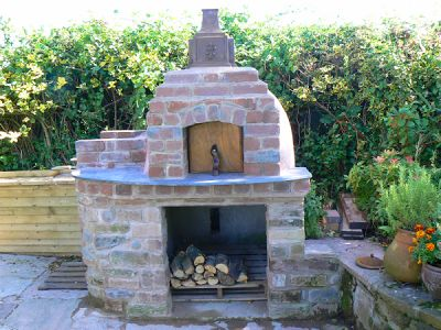 How to build your own wood burning pizza oven
