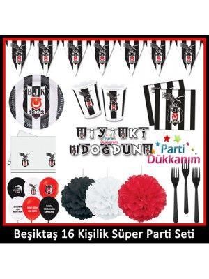 Beşiktaş Süper Parti Seti (16 Kişilik)