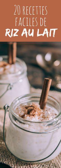 Plus gourmand avec du chocolat ou du caramel, plus frais avec de la framboise ou de l'orange ou encore plus coloré avec de la praline rose : 20 recettes faciles de riz au lait !