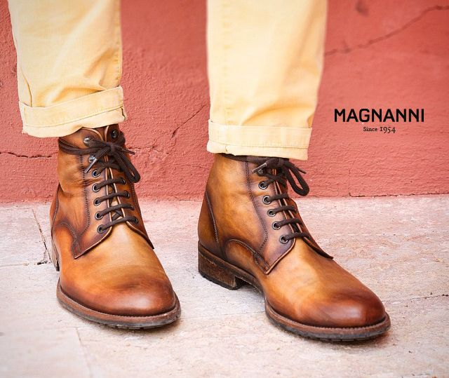 Magnanni Boots Marcelo In Cognac Available At Www