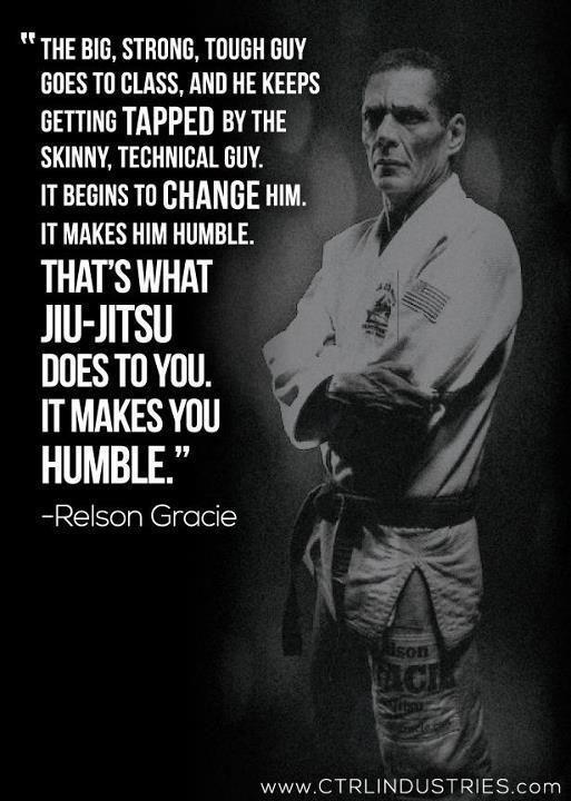 """""""That's what Jiu-Jitsu does to you. It makes you humble."""" - Relson Gracie  http://blog.wedojiujitsu.com/post/94753832192/humble-relson-gracie-jiu-jitsu #JiuJitsu #MMA #GracieJiuJitsu"""