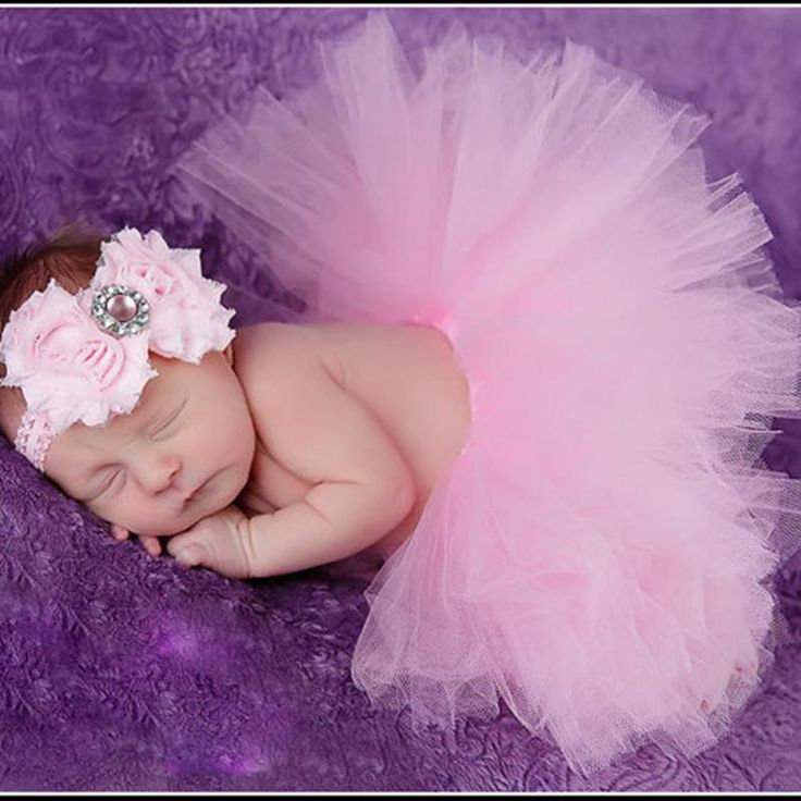 Newborn Baby Girls Headband +Tutu Skirt Clothes Photo Prop Costume Outfits Cute flower Headdress Accessoires Drop Free
