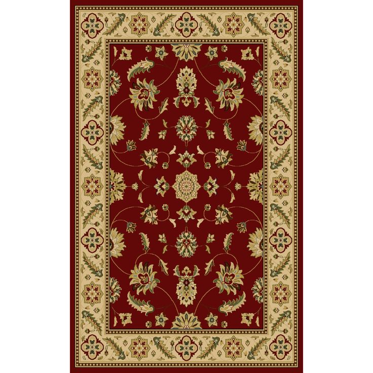 Central Oriental Interlude Kazmir Red Rug Rugs Area By Color