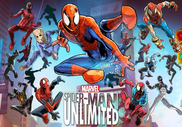 Spider Man Unlimited iPhone