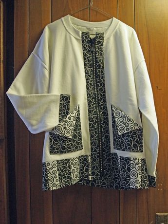 Illusions Sweatshirt Jacket
