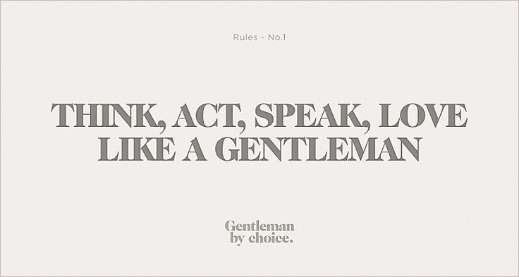 the rules of a gentleman no 1 pdf