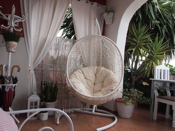 M s de 1000 ideas sobre hamacas colgantes en pinterest - Hamacas para jardin ...