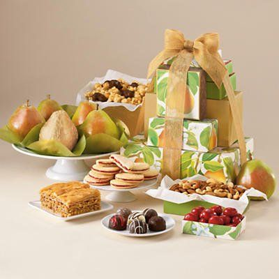 12 best gift basket ideas images on pinterest gift basket ideas gift tower of treats gift classic harry and david negle Image collections