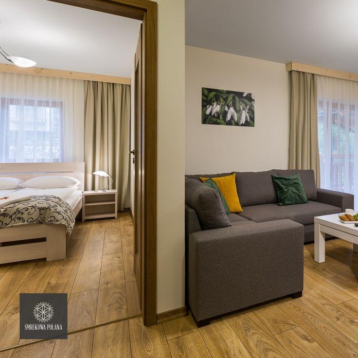 Apartament Przebiśnieg - zapraszamy! #poland #polska #malopolska #zakopane #resort #apartamenty #apartamentos #noclegi #bedroom #sypialnia