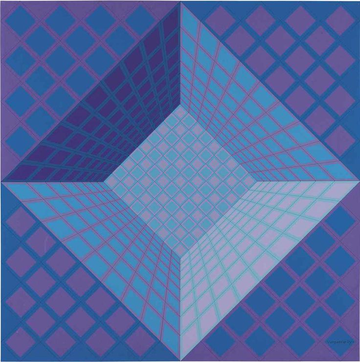 Victor Vasarely (1906-1997)  Pictor