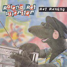 45cat - Roland Rat Superstar - Rat Rapping / Rat Rapping (Instrumental) - Magnet / Rodent  - UK - RAT 1
