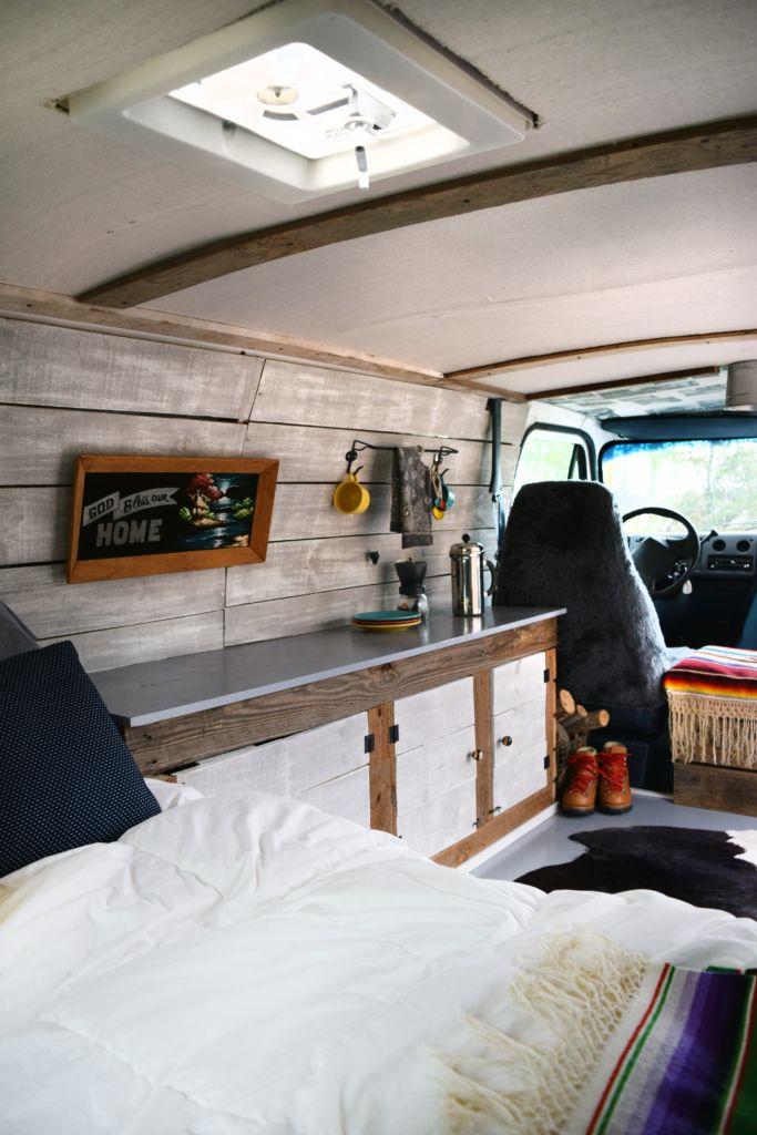 Our Custom, Modern Boogie Van