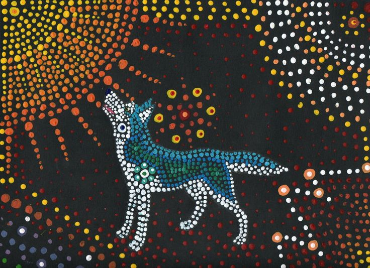 46 best aboriginal dot images on pinterest aboriginal art art how to make aboriginal dot painting google search toneelgroepblik Choice Image