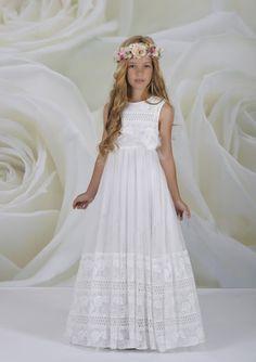 Vestido bonito primera comunión