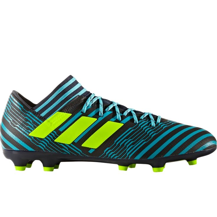 Adidas Nemeziz 17.3 FG Soccer Cleats (Legend Ink/Solar Yellow/Energy Blue)  � Football ShoesSoccer ...