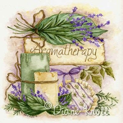 "©Diane Knott  ""Aromatherapy"""
