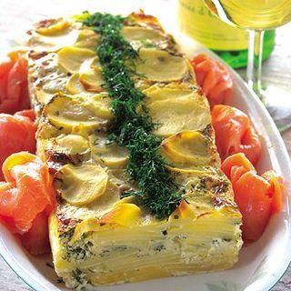 Patén kan ätas både varm och kall som ensamrätt eller serveras till kött eller fisk. Den håller sig några dagar i kylen men blir lite vattnig om den fryses.
