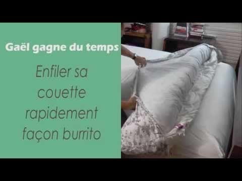 Comment changer la housse de couette en quelques secondes et sans efforts - Astuces de grand mère