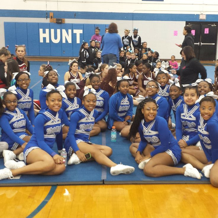 The Darden Middle School Trojans Are Rockinu0026#39; Our Fusion Cheer Uniforms! #WeLoveOurCustomers ...