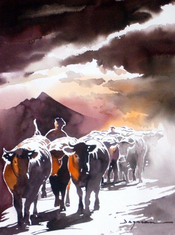 Jean-Guy Dagneau watercolor - Google Search