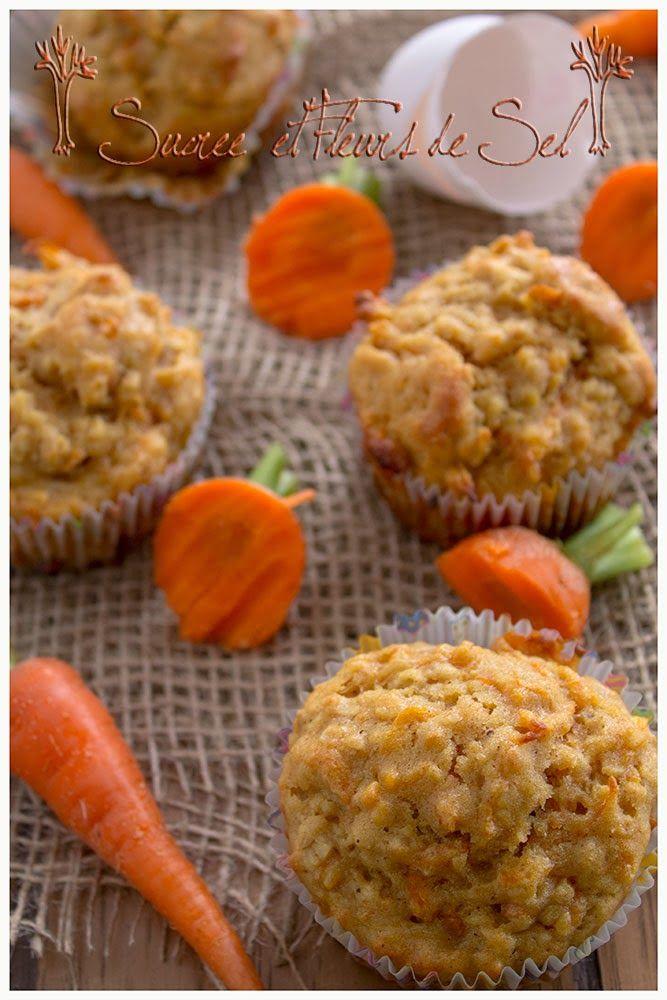 Sucre et Fleurs de Sel: Muffins santé aux carottes et à la mangue.