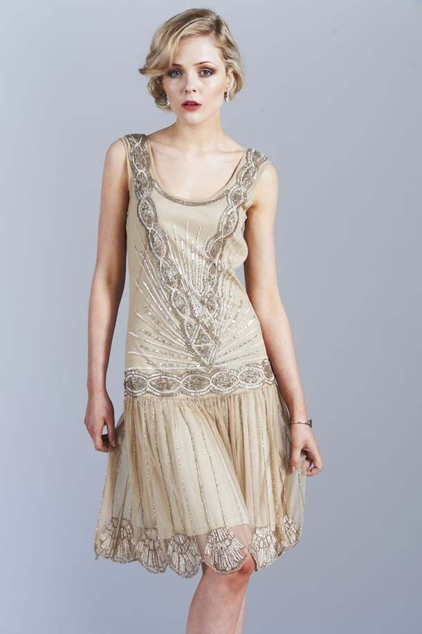 1920's Wedding Ideas - Gatsby Glam Bridesmaid Dresses from Frock and Frill | SouthBound Bride
