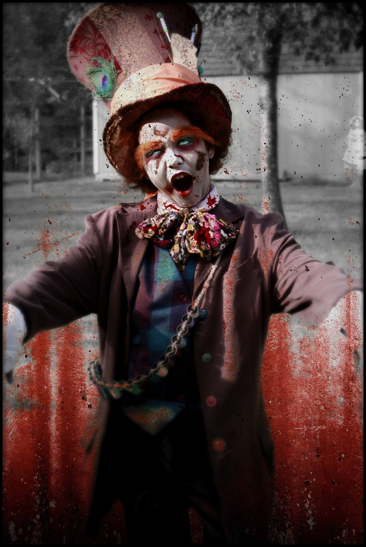 I Ve Chosen To Create A Zombie Mad Hatter I Have Taken A Few Ideas From Many Of The Designs