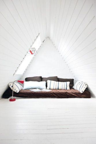 Attic Space Retreat - Home Interior Crush