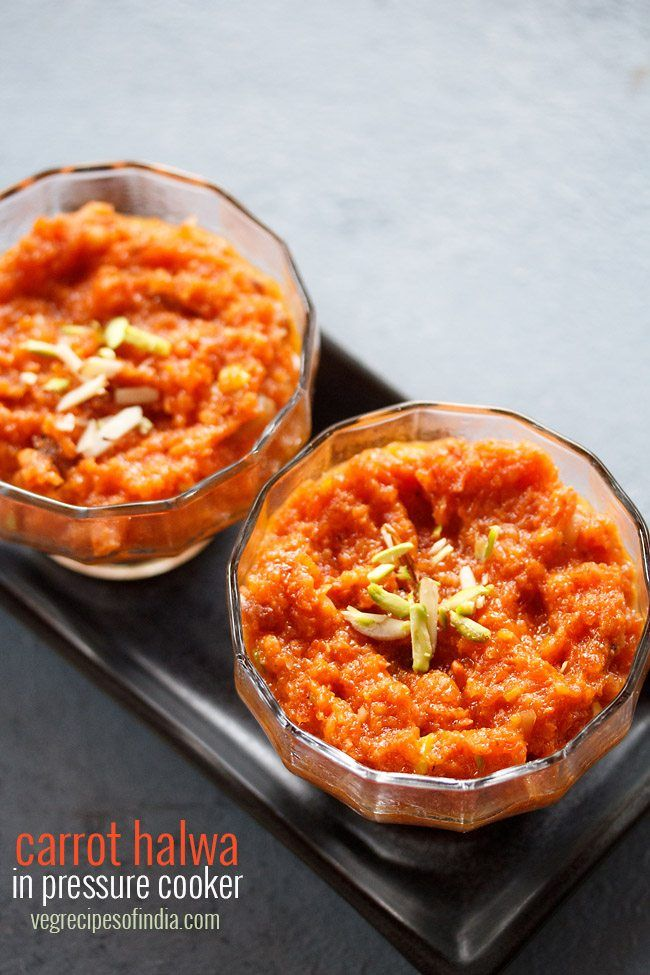 gajar halwa recipe in pressure cooker - easy and a less time taking recipe of preparing carrot halwa.