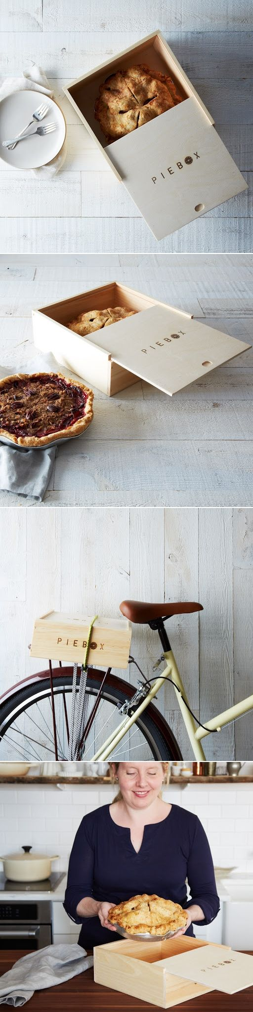 Pie Box... adorable and so useful!