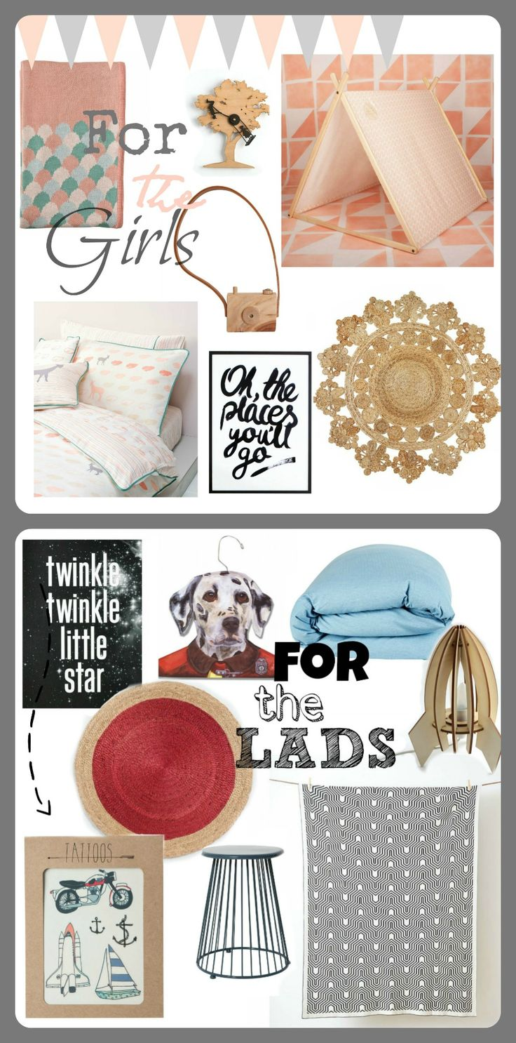 July Post - Kids Homewares Roundup from Hunting For George