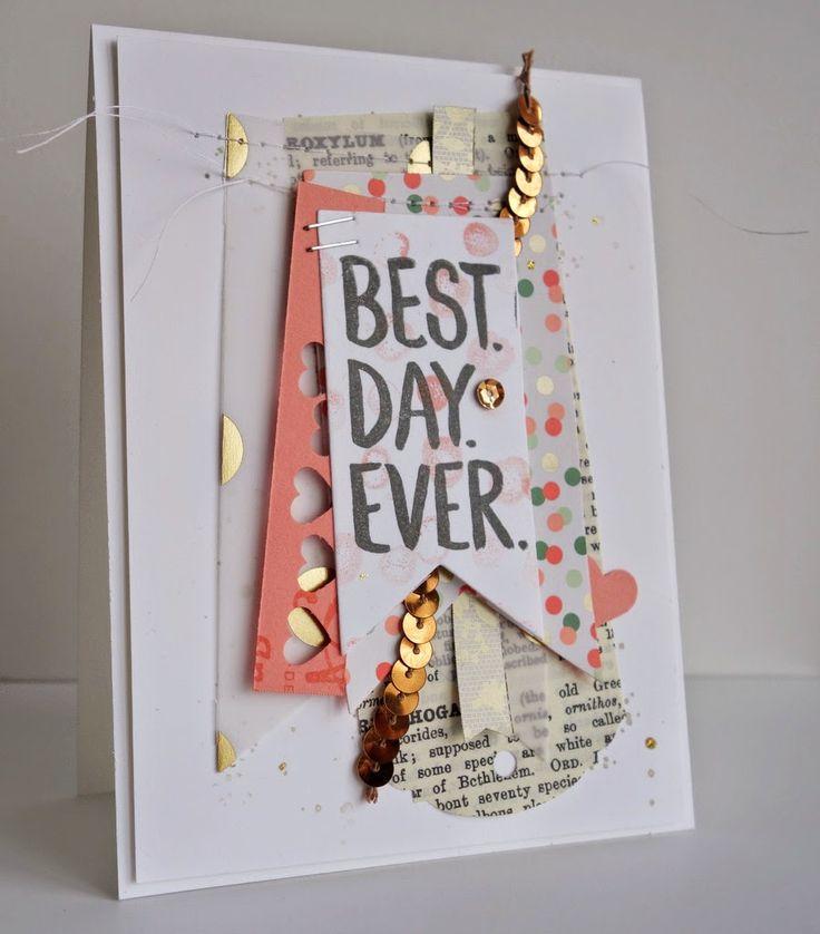Scrap card | Handmade card ideas