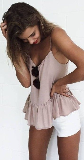 #summer #mishkahboutique #outfits | White + Dusty Pink