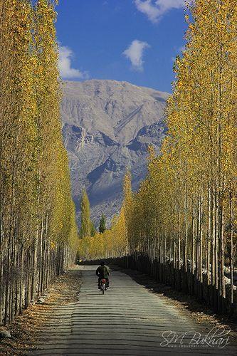 ˚Road to Khaplu Valley - Gilgit Baltistan, Pakistan