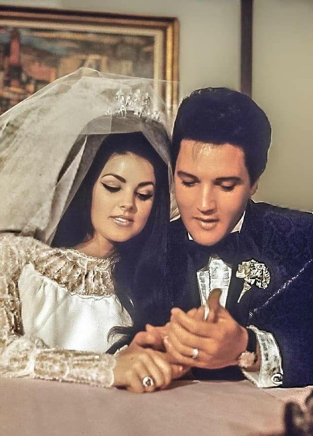 Elvis Pricilla Elvis Presley Priscilla Elvis Presley Quotes Elvis Wedding