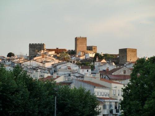 Castelo e casario de Portalegre - PORTUGAL