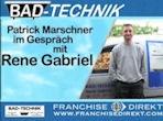 Bad-Technik Franchisenehmer Rene Gabriel spricht über seine Erfahrungen als Franchisegeber von Bad Technik und gewährt Einblick hinter die Kulissen.