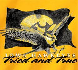 Iowa Hawkeye Football Schedule   Iowa Hawkeyes Football T-Shirts - Tried and True