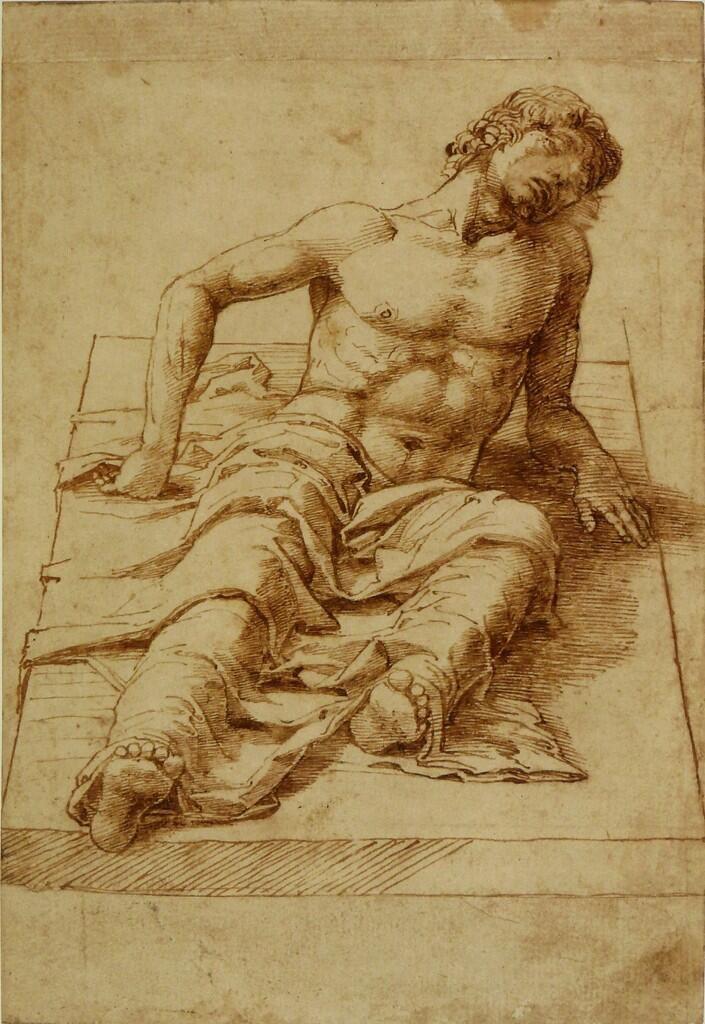 Mantegna drawing, British Museum