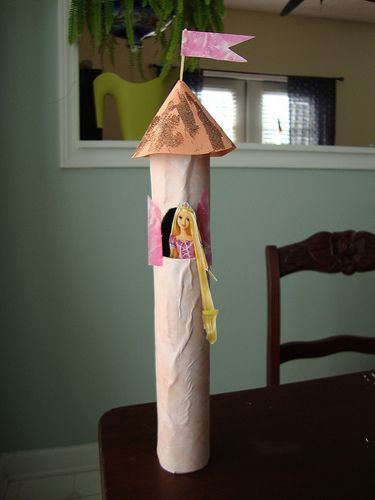 so making this with Abby once we have an empty paper towel tube