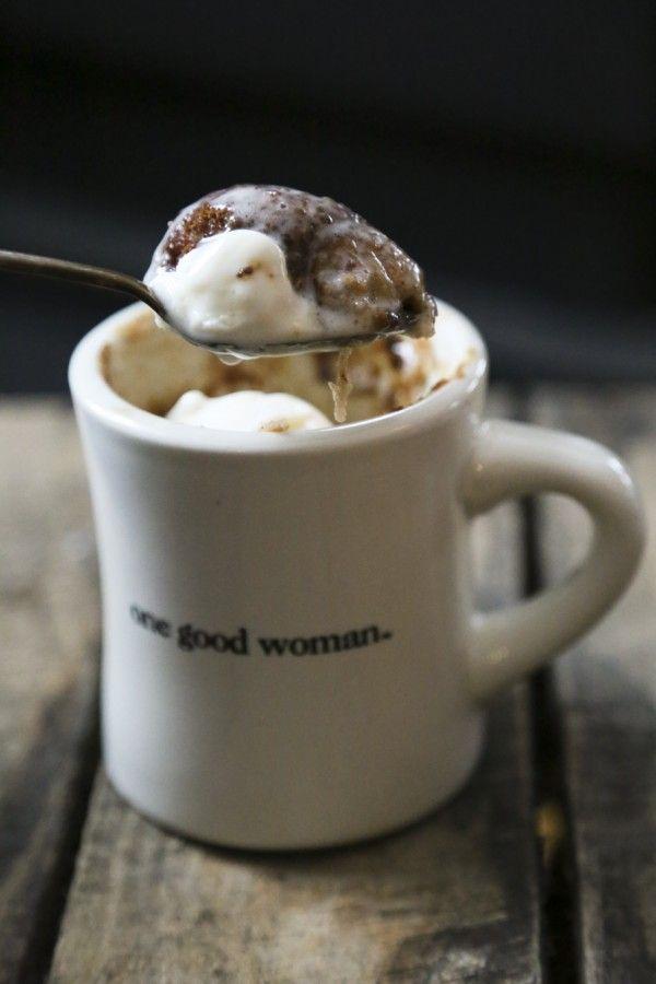 Snickerdoodle Mug Cake Single Serve Cinnamon Vanilla