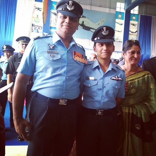On 15 Dec 2018 Indian Air Force got its 7th female fighter